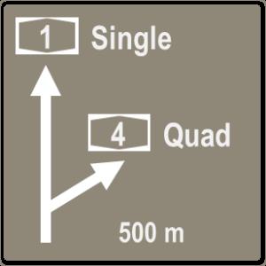 quad sign