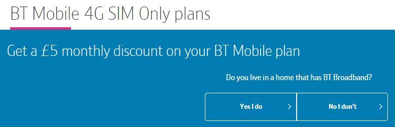 BT Mobile start