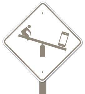 Teeter sign