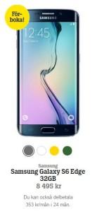 Samsung Galaxy S6 Edge Tele2